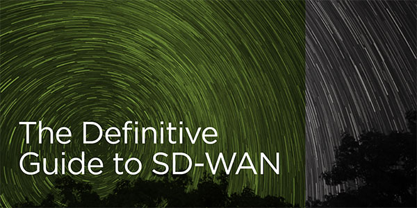 The Definitive Guide to SD-WAN banner image.