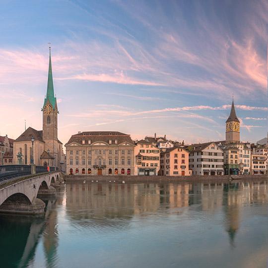 EMEA<br>Headquarters<br>Zurich